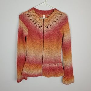 Anthropologie MOTH Zip Up Sweater.      i19SWHNg
